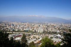 Santiago de Chile stock images