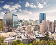 Santiago de Chile. Fotografering för Bildbyråer