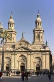 Santiago de chile Obrazy Royalty Free