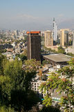 Santiago de Chile Royalty Free Stock Photo
