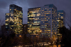 Santiago de Chile. View of Nueva Las Condes, a new business center in Santiago de Chile Stock Photography