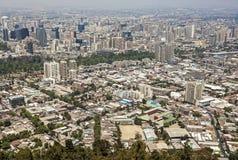 Santiago de Chile Chile. Arkivfoton