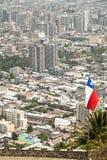 Santiago de Chile Chile. Arkivfoto