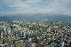 Santiago de Chile Chile - November 15, 2015: Santiago de Chile Arkivfoton