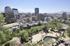 Santiago de Chile. City centre of Santiago de Chile Stock Photography