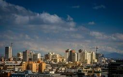 Santiago de Chile. Cityscape of Santiago, the capital of Chile Stock Photography