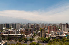 Santiago de Chile cityscape Stock Photos