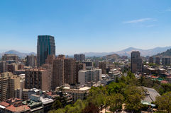 Santiago de Chile cityscape Stock Photography