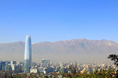 Santiago de Chile, financial and economy center Royalty Free Stock Photos