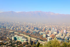 Santiago de Chile, financial and economy center Royalty Free Stock Images