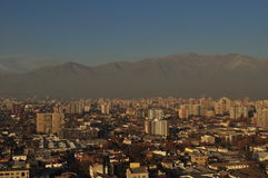 Santiago de Chile. General view of Santiago de Chile city in Chile Stock Image