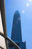 Santiago de Chile mieszana architektura Obrazy Stock