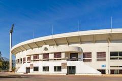 Santiago de Chile National Stadium. Exterior view shot of Julio Martinez Pradanos santiago de chile stadium royalty free stock images