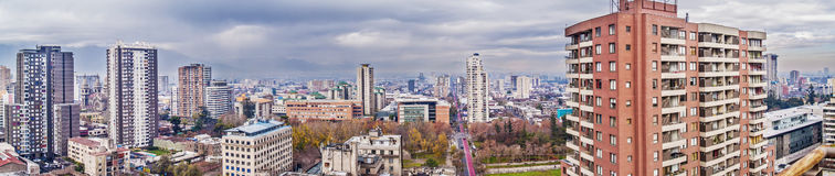 Santiago de Chile panorama Royalty Free Stock Photo
