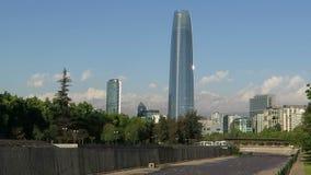 Santiago de Chile Skyline stock footage