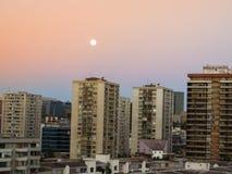 Santiago de Chile skyline Royalty Free Stock Photography