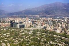 Santiago de Chili Photographie stock libre de droits