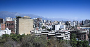 Santiago de Chili image libre de droits