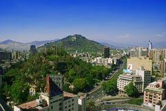Santiago DE Chili stock afbeelding