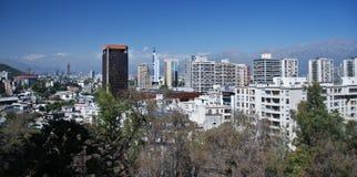 Santiago de Cile Fotografie Stock Libere da Diritti