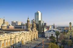 Santiago de Cile (Cile) Immagine Stock Libera da Diritti