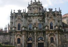 Santiago de Compostela Lizenzfreies Stockfoto