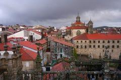 Santiago de Compostela Stockbild