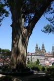 Santiago de Compostela Fotografía de archivo libre de regalías