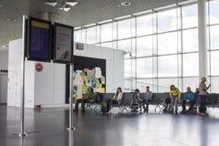 Santiago de Compostela Airport, Spain royalty free stock photo