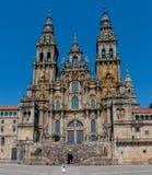 Santiago de Compostela-Catedral Fotografia Stock Libera da Diritti