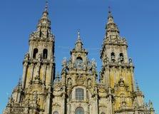 Santiago de Compostela Cathedral Royaltyfria Bilder