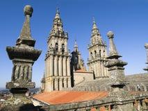 Santiago de Compostela Cathedral 3 Stock Photography