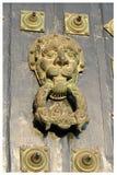 Santiago de Compostela Cathedral - Detail. Detail at the door of Santiago de Compostela�s Cathedral Stock Photography