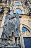 Santiago de Compostela Cathedral, Galicia Royalty Free Stock Images