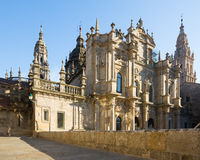 Santiago de Compostela Cathedral. Galicia, Spain Royalty Free Stock Image