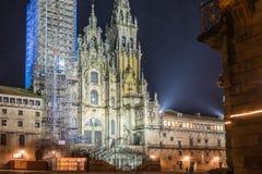 Santiago de Compostela Cathedral Royalty Free Stock Photography