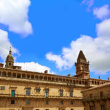 Santiago de Compostela end of Saint James Way Royalty Free Stock Photos