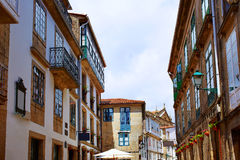 Santiago de Compostela end of Saint James Way Royalty Free Stock Photography