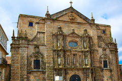Santiago de Compostela end of Saint James Way Stock Photo