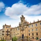 Santiago de Compostela end of Saint James Way Stock Images
