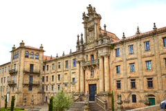 Santiago de Compostela end of Saint James Way Royalty Free Stock Image