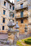 Santiago de Compostela end of Saint James Way Stock Images