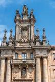 Santiago de Compostela, España Monasterio de St Martin Pinario fotos de archivo