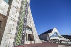 Santiago de Compostela,Galicia,Spain. Contemporary architecture,Museum,City of Culture of Galicia, Cidade da cultura de Galicia, designed by Peter Eisenman Royalty Free Stock Images