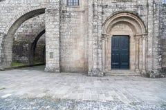 Santiago de Compostela Galicia, Spanien Arkivbild