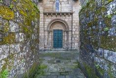 Santiago de Compostela Galicia, Spanien Royaltyfri Fotografi