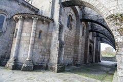Santiago de Compostela Galicia, Spanien Arkivfoton