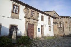 Santiago de Compostela Galicia, Spanien Royaltyfria Foton