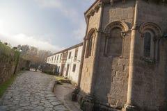 Santiago de Compostela Galicia, Spanien Royaltyfria Bilder