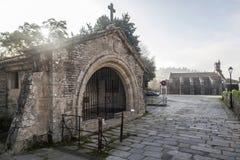 Santiago de Compostela Galicia, Spanien Royaltyfri Bild